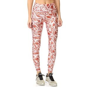 Terez Candy Cane Tall Band Leggings